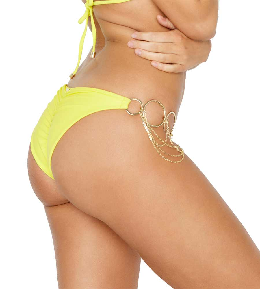 SUNSHINE HAUTE HOLLYWOOD ZARA SKIMPY BOTTOM BY BEACH BUNNY