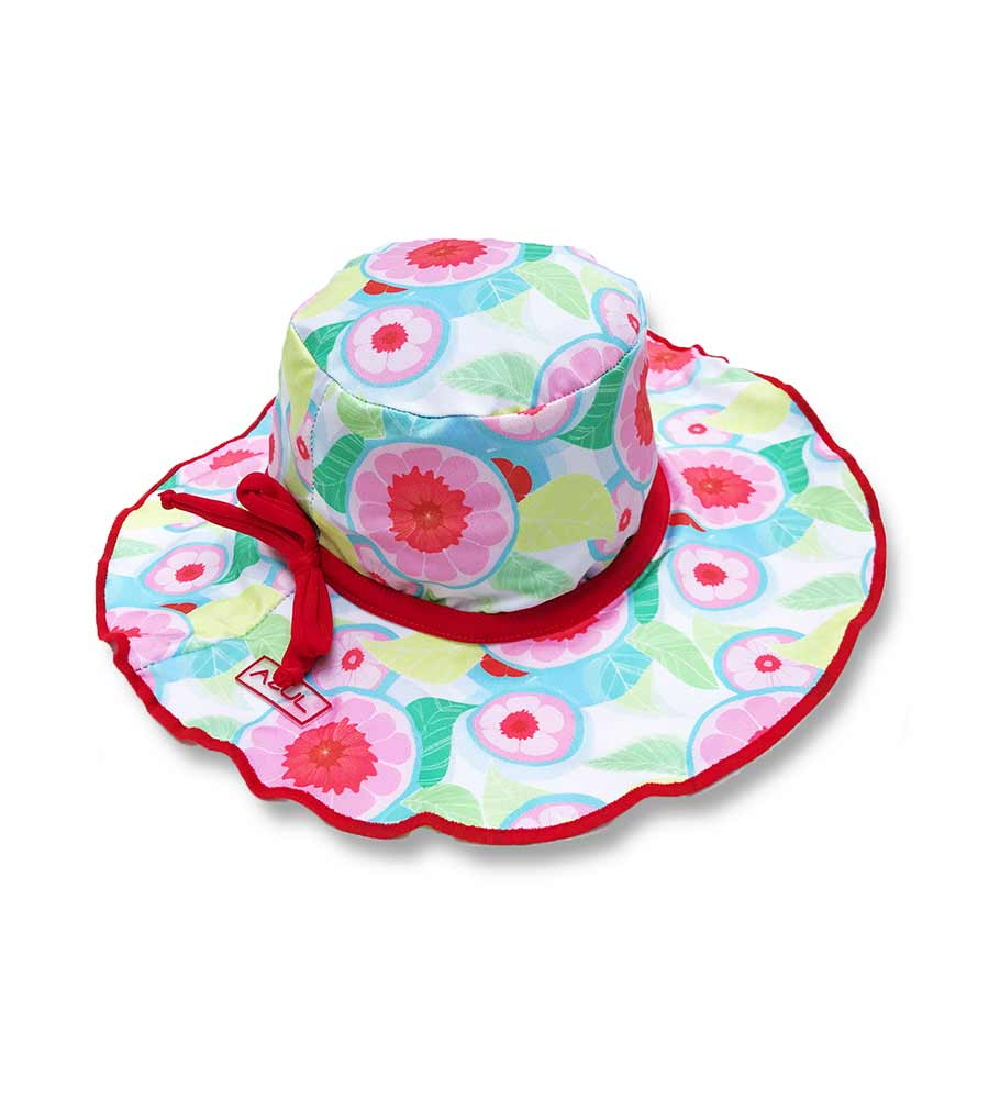 SWEET JANE RUFFLE BUCKET HAT BY AZUL - Kayokoko Swimwear USA fd5c17d1d6f