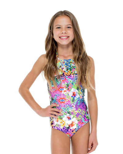 GUAJIRA SUPERSTAR RUFFLE ONE PIECE LULI FAMA T53235-111