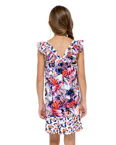 CIENFUEGOS SHORT DRESS LULI FAMA T55228-111