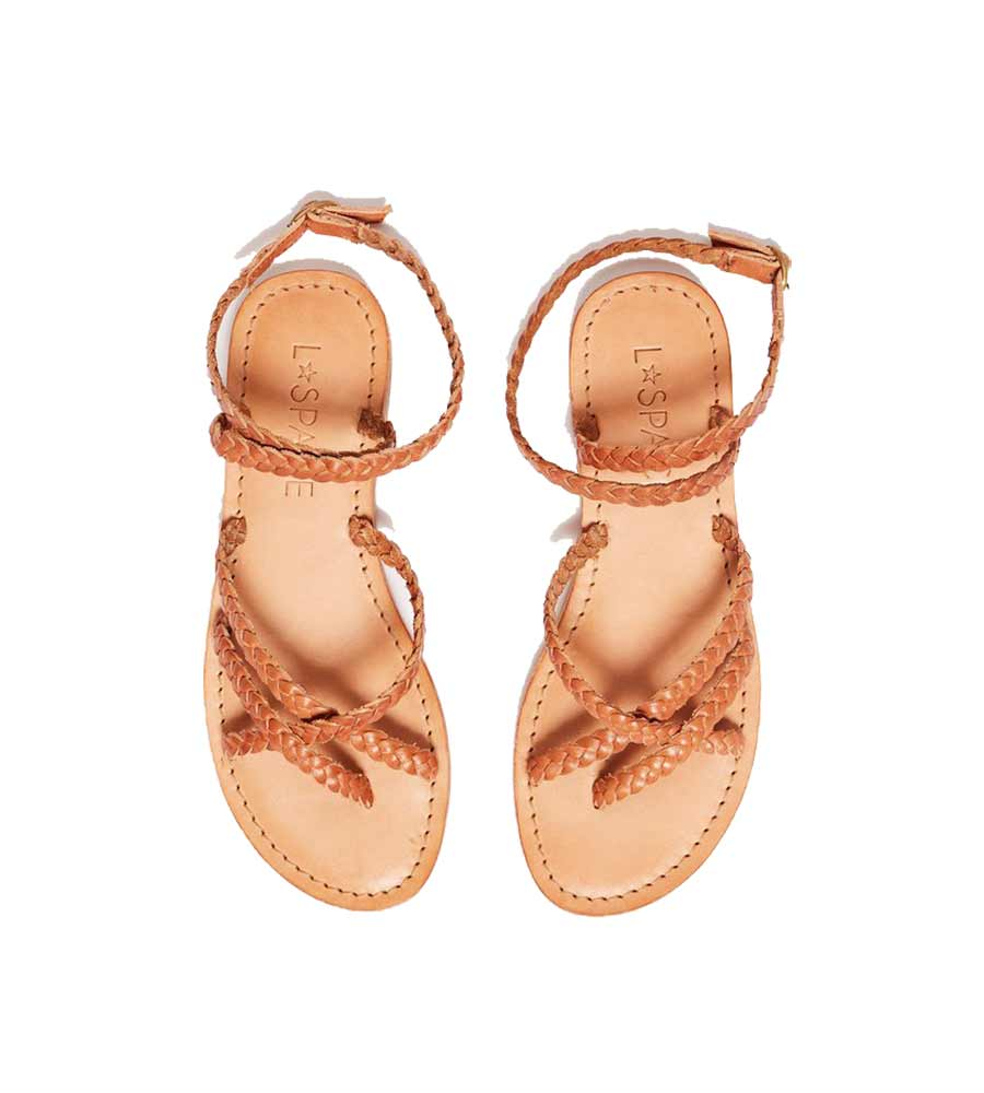 TAN HERMOSA SANDAL BY LSPACE