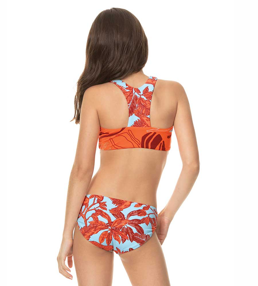 TANGERINE DREAM BASKET GIRLS BIKINI SET MAAJIRASH-GUARD-SHIRTS 3090KKB010