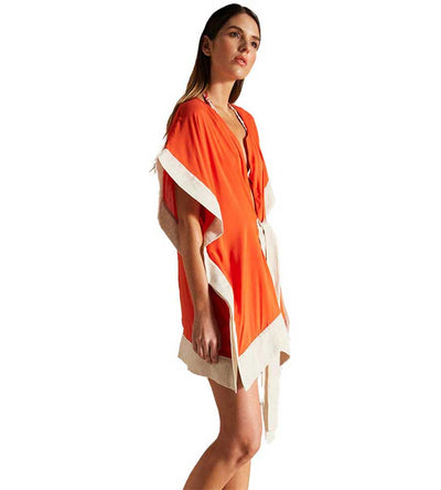 TANGY TANGERINE SHORT COVER UP TOUCHE 0A88012