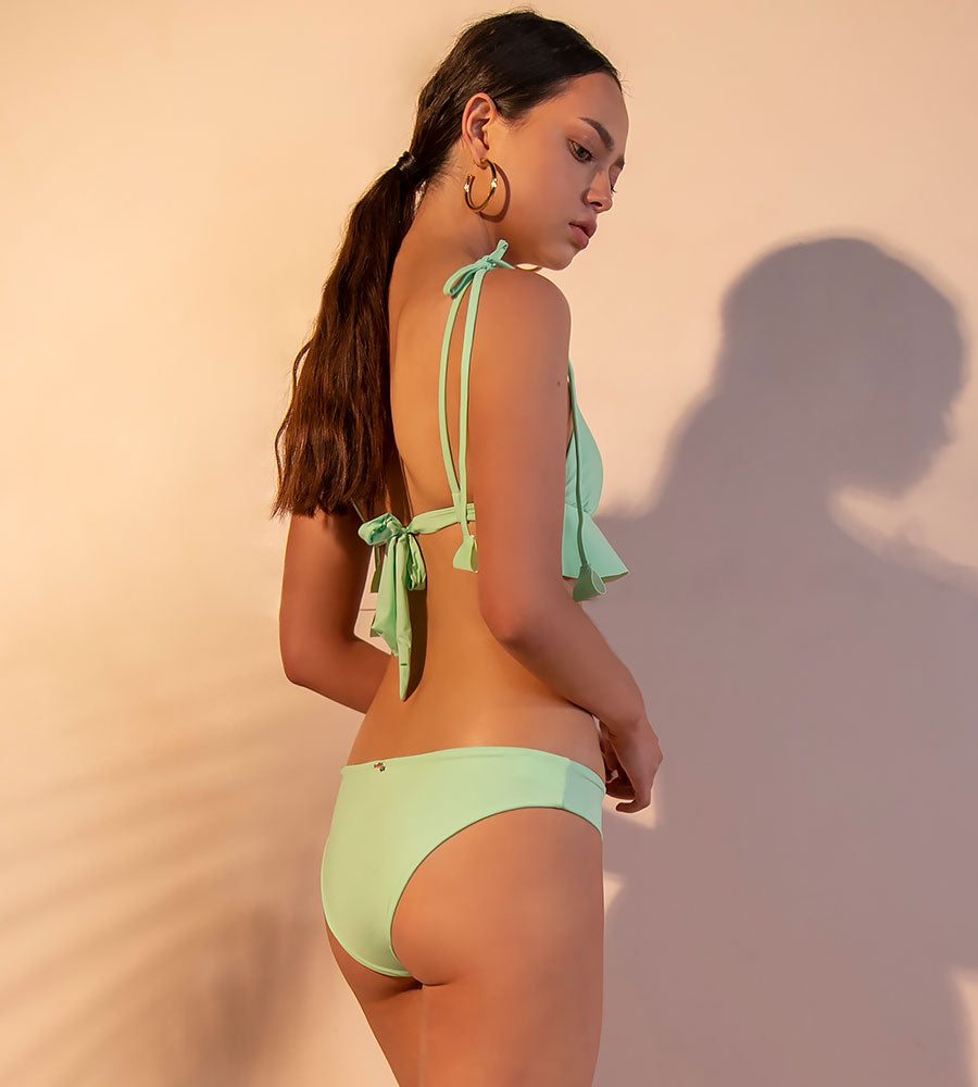 THE MINT DREAMER BIKINI TOP ANCORA F283T