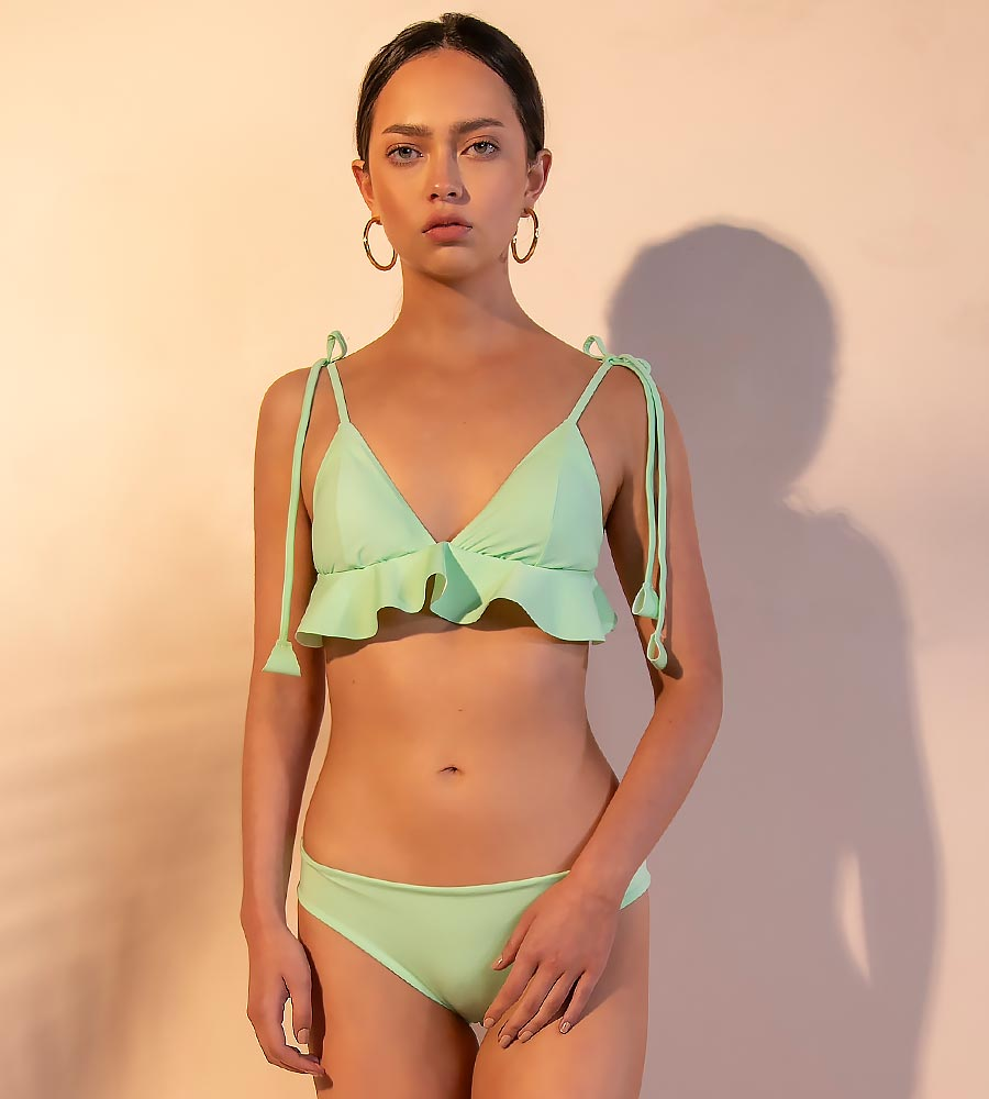 THE MINT DREAMER BIKINI BOTTOM ANCORA F283BSC