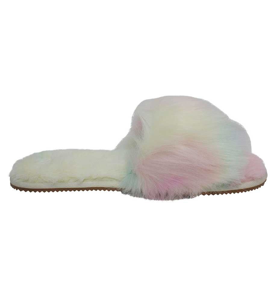 TIE DYE SLUMBER SLIPPER BY MALVADOS SANDALS