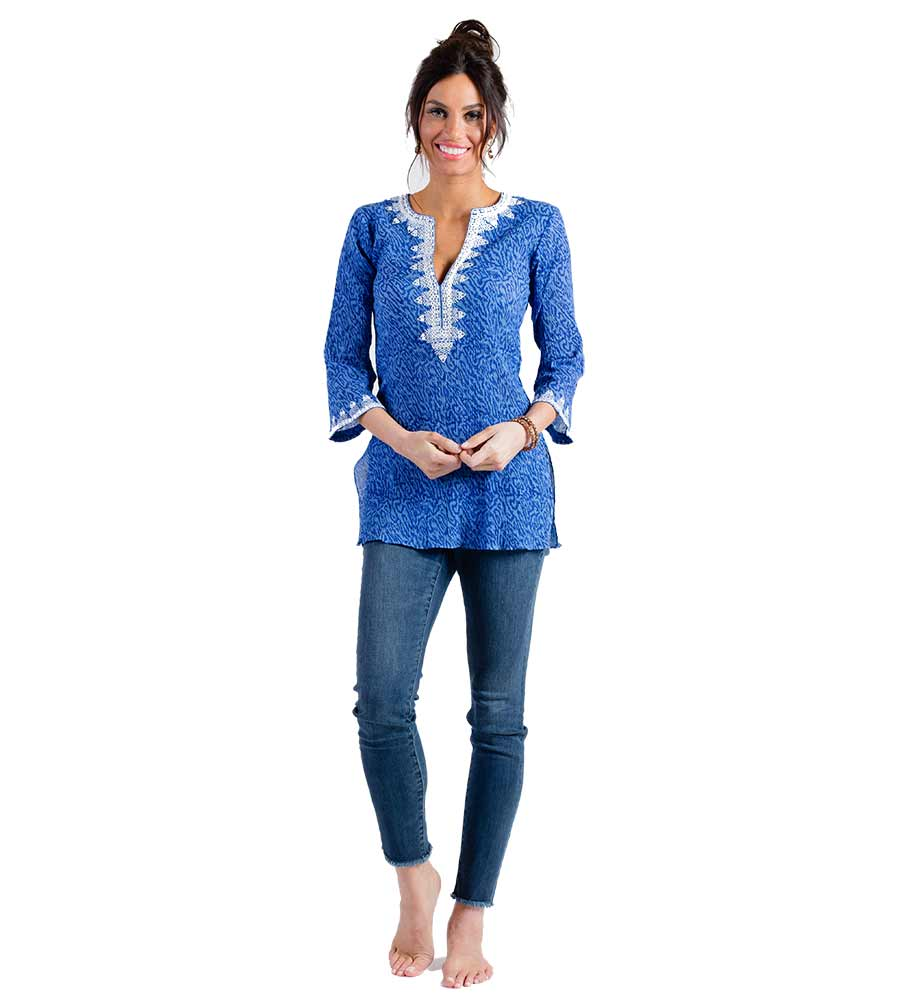 TIGER BLUE SAVANNAH TUNIC SULU SAVANNAH1