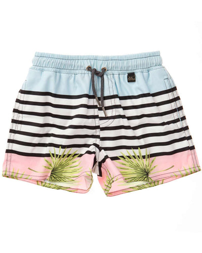 TROPIC STRIPE JOE KIDS SWIM SHORT AGUA BENDITA AN2000118-1