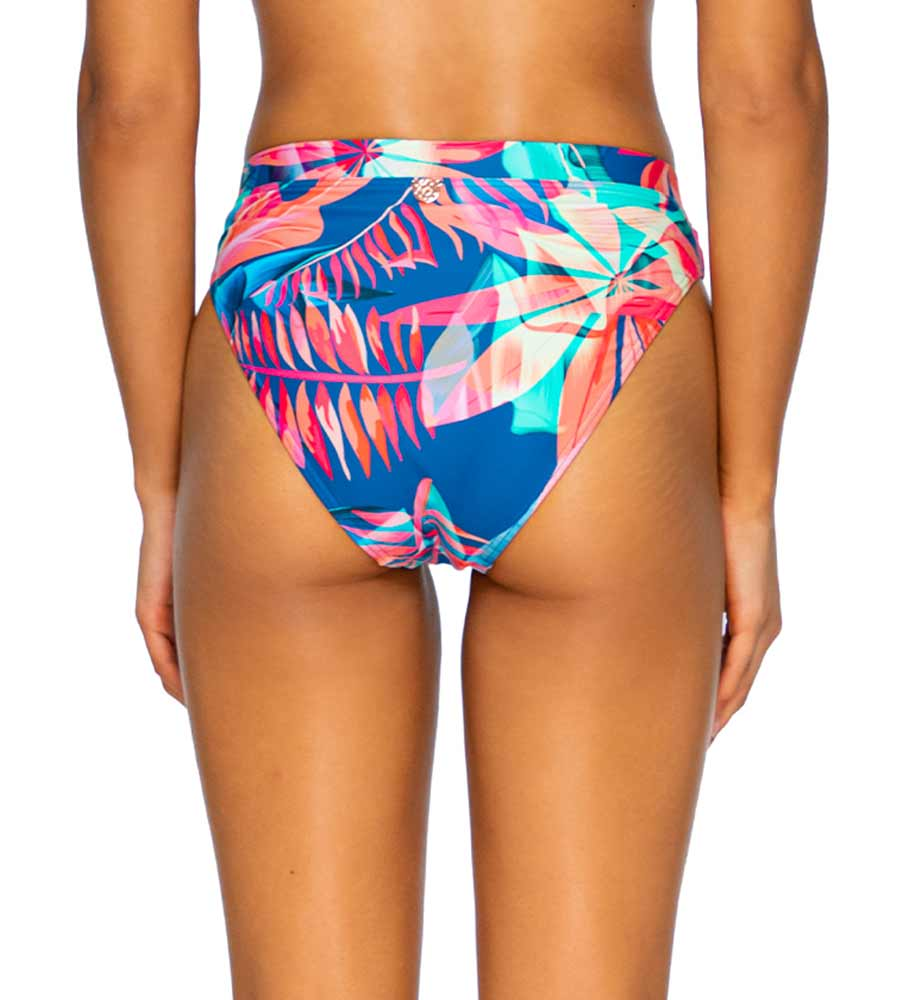 TROPICAL PUNCH SOLEIL HIGH WAIST BOTTOM BY SWIM SYSTEMS