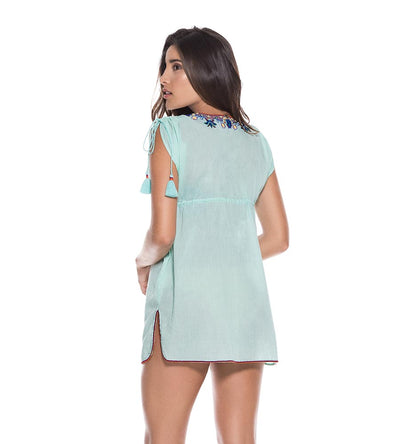 MINT COTTON TUNIC ONDADEMAR TTU040-SOLID