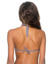 MOANA GRAY ISLAND HI-NECK TOP B.SWIM U86MOGR