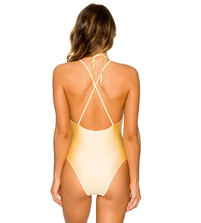 SUNBURST LUSH ONE PIECE B.SWIM UL114SNBU