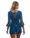 ULTRAMARINE ANGEL HAIR TUNIC DESPI 1214