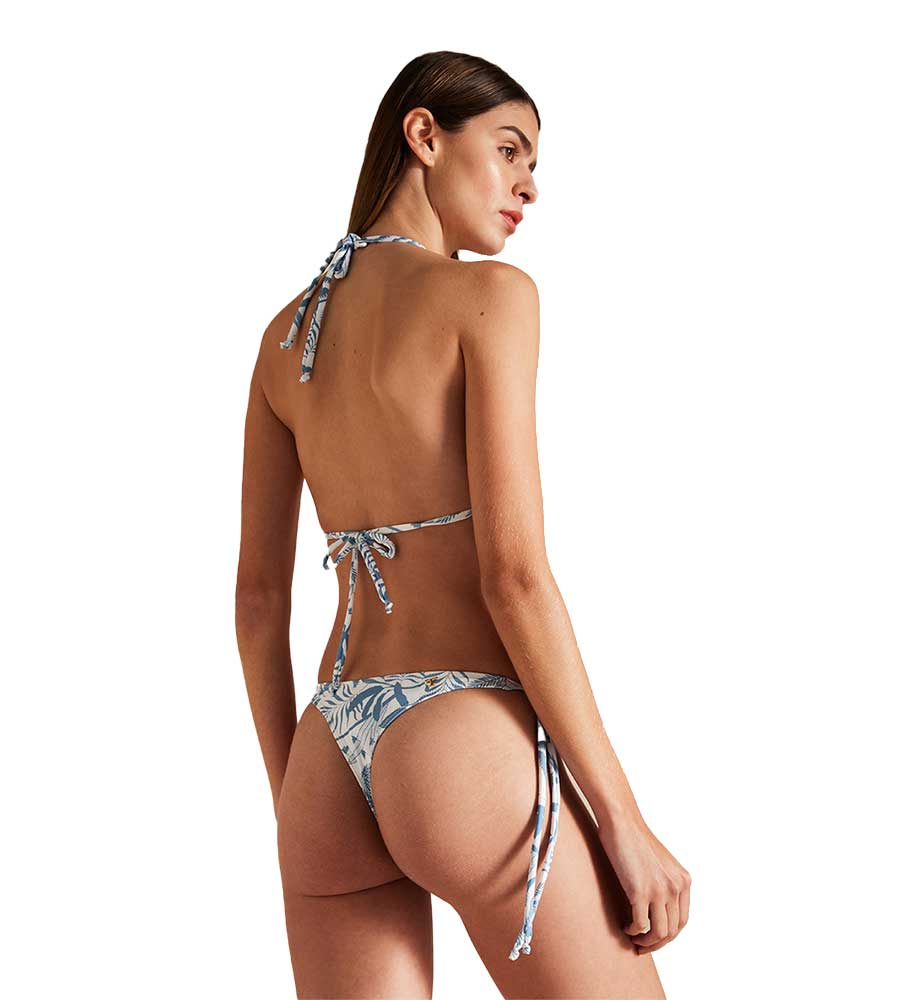 UNDER THE PALMS TIE SIDE THONG BOTTOM BY TOUCHE