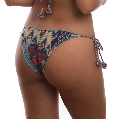 VINTAGE GOLD FROU FROU BIKINI BOTTOM DESPI 5424BB