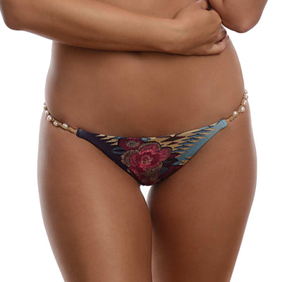 VINTAGE GOLD NEW SHELLY BIKINI BOTTOM DESPI 5401BF