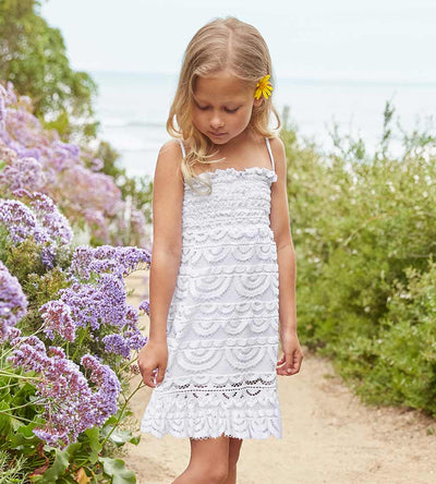 WATER LILY FIOLA GIRLS DRESS PILYQ WAT-732D