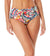 WATERCOLOR PAISLEY RING BELT HIGH WAIST BIKINI BOTTOM BY ANNE COLE