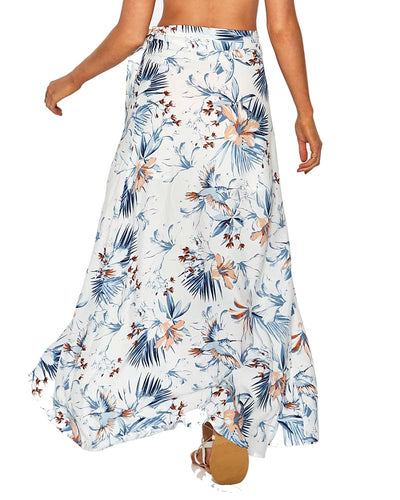 BIRD OF PARADISE WHITNEY WRAP SKIRT LSPACE WHISK18-BOP