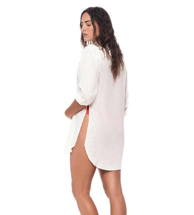 WHITE BELOVED COVER UP MALAI C04002