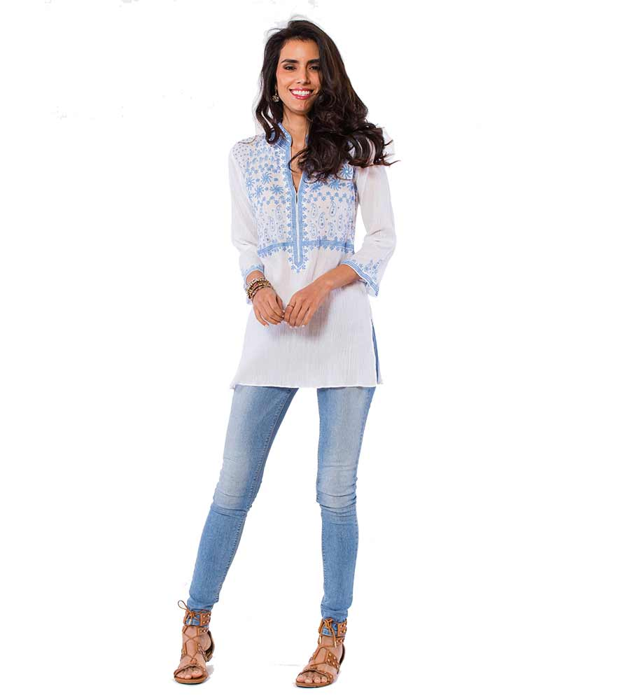 WHITE BROOKLYN TUNIC SULU BROOKLYN3
