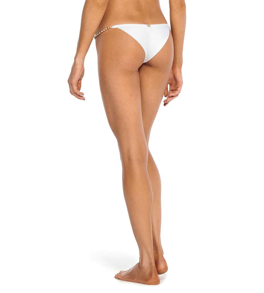 WHITE CLEO STRING BOTTOM VIX 167-406-002