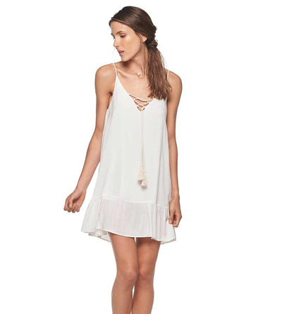 WHITE CUSHY DRESS MALAI C13002