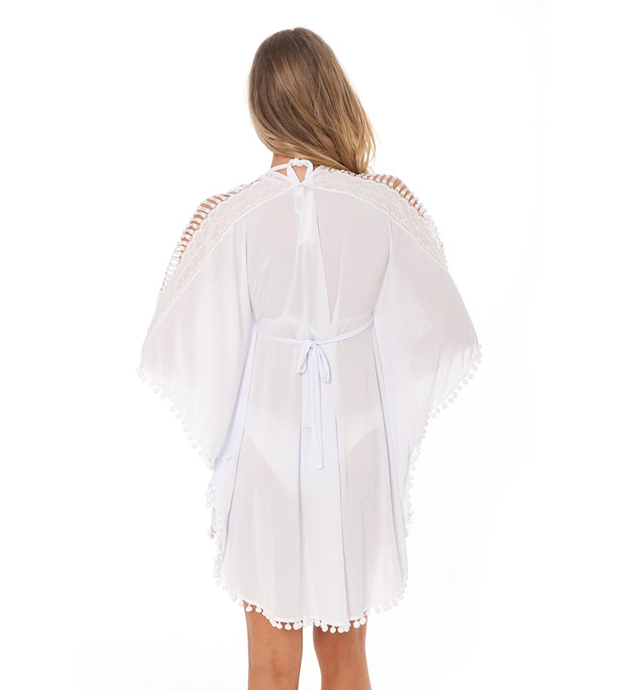 WHITE KAFTAN BY DESPI