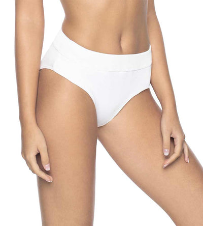 WHITE PEARL HIGH WAIST BOTTOM PILYQ WHP-252F