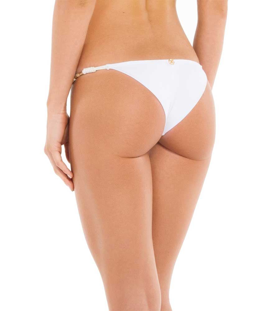 WHITE ROLL STRING BOTTOM BY VIX