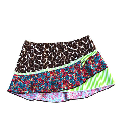 WILD AT HEART SKIRT AZUL 9681