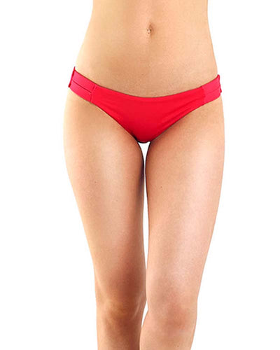 CAYENA RED BIKINI BOTTOM MOLA MOLA BI CASOLID RED BOTTOM