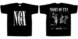 """Night of Pan"" Short Sleeve Tee Shirt"