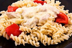 Pasta Salad with Tomatoes and Asparagus