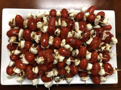 Caprese Salad - On a Stick