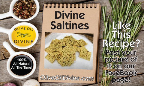 Divine Saltines by Olive Oil Divine