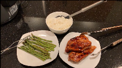 Greg's Blueberry BBQ Chicken