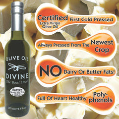 Butter Flavored First Cold Pressed Extra Virgin Olive Oil