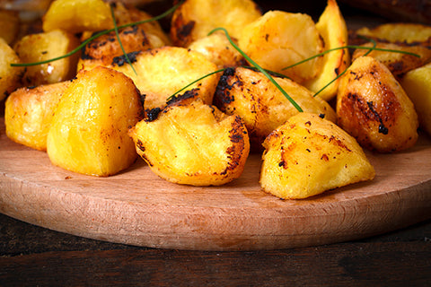 Grilled Garlic and Herb Potatoes