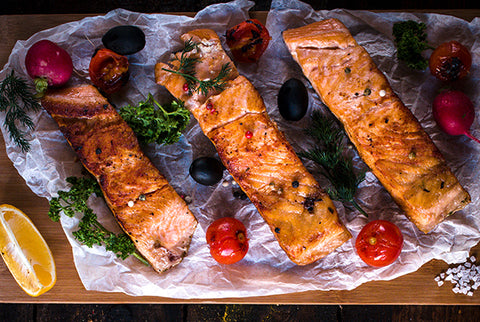 Spicy Baked Salmon