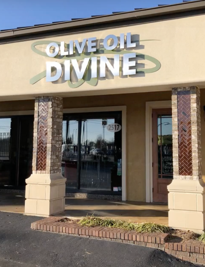 Store Front for Olive Oil Divine in Johnson City, TN