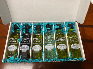 "6 Pack - ""Pasta de Europe"" Extra Virgin Olive Oil & Balsamic Gift Set"