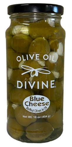 Blue Cheese Stuffed Olives In Oil