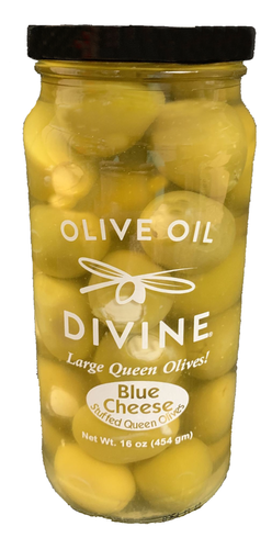 Blue Cheese Stuffed Queen Olives