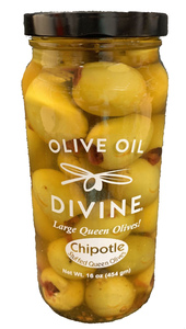 Chipotle Stuffed Queen Olives
