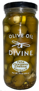 Feta Oregano Stuffed Olives In Oil