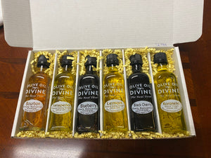 "6 Pack - ""de Grilling Boss"" Extra Virgin Olive Oil & Balsamic Gift Set"