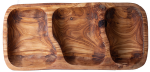 "Authentic Olive Wood ""Nibble Dish"""