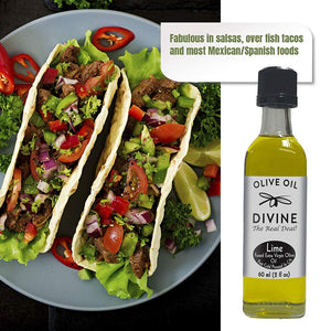 Lime Fused Extra Virgin Olive Oil