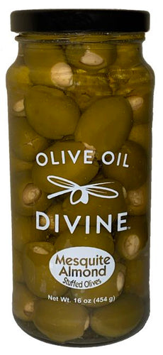 Mesquite Smoked Almond Stuffed Olives